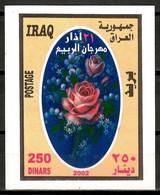 Iraq 2002 / Flowers MNH Flores Blumen Fleurs / Cu15905  31-35 - Non Classificati