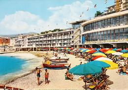 Cartolina - Riviera Dei Fiori - Varazze - Stabilimento Balneare Nautilus - 1955 - Savona