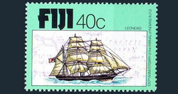 Fiji 1979 MNH, Indian Theme On Foreign Stamp, Arrival Of Indians In Fiji, Ships - Barche