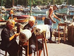 Cartolina - Portofino - Donne Che Lavorano I Merletti - 1970 Ca. - Genova