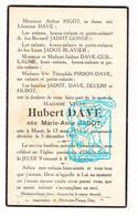 DP Marie Anne Jadot ° Maret Orp-le-Grand Orp-Jauche 1851 † 1937 X Dave Rigot Gonne Blavier Guillaume Pirson Decerf Hubot - Santini