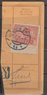 POLAND POLEN POLOGNE 1920 Fi 100 - 10M Postmark SANOK  - USED On Cut - Usati
