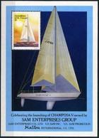 Grenadines Of St. Vincent 1988 MNH MS, Sailing Ships, SAM Enterprises - Barche