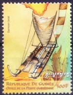 Guinea 2000 MNH, Samoan Boat, Canoes, Marquesas Island, Pacific Ocean - Barche