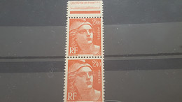 LOT560487 TIMBRE DE FRANCE NEUF** LUXE VARIETE N°2,40 CASSE - Collections