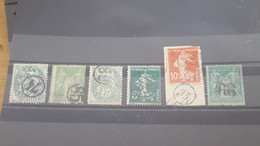 LOT560517 TIMBRE DE FRANCE OBLITERE CACHET DE FACTEUR - Collections