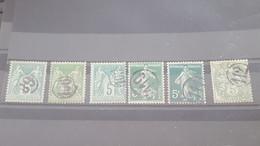 LOT560518 TIMBRE DE FRANCE OBLITERE CACHET DE FACTEUR - Collections