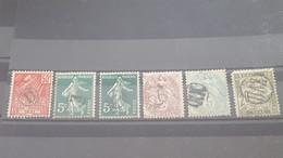 LOT560519 TIMBRE DE FRANCE OBLITERE CACHET DE FACTEUR - Collections