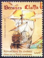 Guinea 2000 MNH, Ships, Explorer Columbus Letter Of 1453 - Barche
