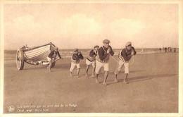 Heist - Heyst - Les Bateliers Qui Ne Sont Pas De La Volga - Oost, West, Thuis Best (animatie 1937) - Heist