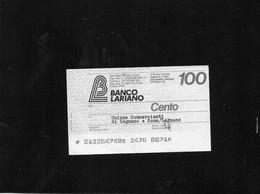 Italia - Miniassegno Banco Lariano - Legnano 1977 - Non Classificati