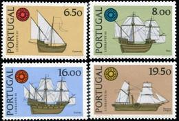 Portugal 1980 MNH 4v, Sailing Ships - Barche