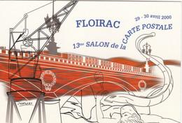 Carte Postale: 13ème Salon De La Carte Postale FLOIRAC Gironde 2000 - Esposizioni