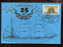 Gorch Fock / 1983 / Sonderbrief (3691) - Barche