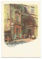 AA2559 Napoli Nell'800 - Sedile Di Porto - Illustrazione Illustration / Non Viaggiata - Napoli