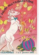 Carte Postale: 5ème Salon Multicollections 2002 VILLEMOMBLE - Esposizioni