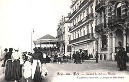 Heist - Heyst - Grand Hôtel Des Bains (animation Carpentier-Francotte Kiosque, Adhésif) - Heist