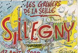 Carte Postale: Les Greniers De La Seille SILLEGNY 2000 - Esposizioni