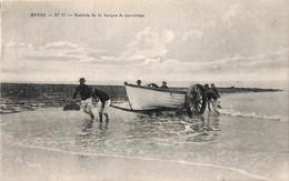 Heist - Heyst - Rentrée De La Barque De Sauvetage(animation Edition Grand Bazar Parisien 1914) - Heist
