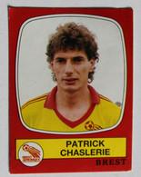 Sticker Autocollant Panini Patrick Chaslerie Brest Football 1987 N°34 - Edizione Francese