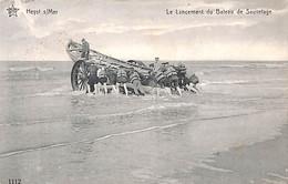 Heist - Heyst - Le Lancement Du Bateau De Sauvetage (animation Star 1913) - Heist