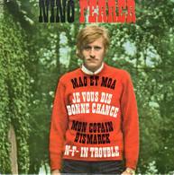 POCHETTE EP NINO FERRER - MAO ET MOA + 3 - 1967 - SANS LE VINYLE - Accessori & Bustine
