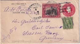USA - 2 C. Ganzsache+Zusatz Brief Papillion - Seesen 1929 - Unclassified