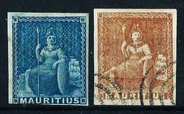 Mauricio (Británico) Nº 15/16 Cat.26€ - Mauritius (...-1967)