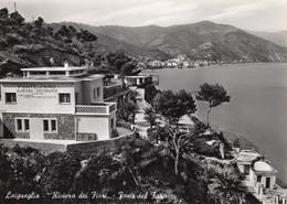 Laigueglia - Fonte Del Faro Albergo, 2 Cartoline Diverse - Savona