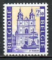 BELGIQUE. N°1615 1971. Basilique Saint Hubert. - Chiese E Cattedrali