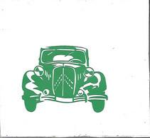 -AUTOCOLLANT-Vers 1975-AUTOMOBILE-CITROEN-TRACTIONFt 12x12 Cm-TBE-RARE - Adesivi