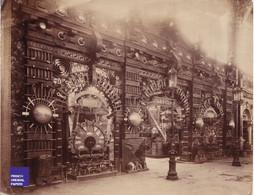 Pavillon Forges Et Aciéries Grande Photographie Exposition Universelle Paris 1889 Apremont Ardennes Pompey Forge MF3 - Oud (voor 1900)