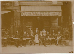Paris - Boulevard Saint-André - Terrasse Du Café VALETTE - Oud (voor 1900)