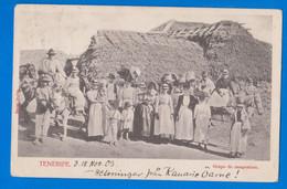 Tenerife, Canarias, Grupo De Campesinos, España 1903 - Tenerife