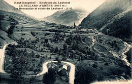 N°18939 Z -cpa Villard D'Arène -la Romanche Et Route Du Lautaret- - Other Municipalities