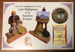 13 AIX QUE L'ENCART GRAND PEINTRE AIXOIS SANTONS FOUQUE MÉDAILLE TOURISTIQUE MONNAIE DE PARIS JETON MEDALS COINS TOKENS - 2011