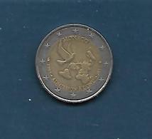 2 Euros Monaco : 1993 Admission à L'ONU 2013 (état : Pièce Ayant Circulée) - Monaco