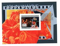 GUINEE - GUINEA - B/F - M/S - 2007 - JOHN WAYNE - RIO BRAVO - ALAMO - CINEMA - MOVIES - - Guinee (1958-...)
