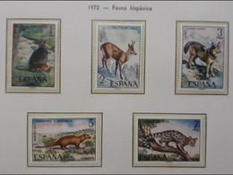 ESPAÑA 1972 Fauna Hispánica. MNH - 1971-80 Nuovi