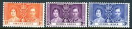Sierra Leon MNH 1937 Coronation - Sierra Leone (...-1960)