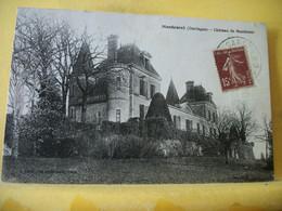 24 5515 VUE INCONNU SUR DELCAMPE. CPA 1932 - 24 MONTCARET. CHATEAU DE MONTRAVEL. - Other Municipalities