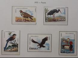 ESPAÑA 1972 Fauna - Aves. MNH - 1971-80 Nuovi
