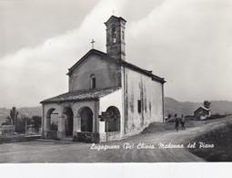 LUGAGNANO-PIACENZA-CHIESA MADONNA DEL PIANO-CARTOLINA VERA FOTOGRAFIA NON VIAGGIATA 1955-1959 - Piacenza