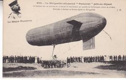 LE DIRIGEABLE ALLEMAND PARSEVAL - Aeronaves