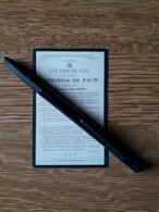 Catharina De Pauw ° Erps 1824 + Erps 1914 X Judocus Van Doren - Santini
