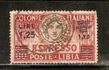 CE616 - LIBIA - Sassone - Espresso 12 - Usato - Italia Turrita - Libia