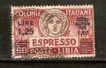 CE626 - LIBIA - Sassone - Espresso 12 - Usato - Italia Turrita - Libia
