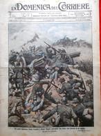 La Domenica Del Corriere 2 Luglio 1916 WW1 Alpini Absburgo Val D'Adige Trieste - Guerra 1914-18