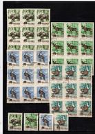 Polen OO 1954 Tiere/Animals IMP/UNGZ: 10 Set - Usati