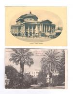 2 Vecchie Cartoline Palermo Sicilia - Palermo